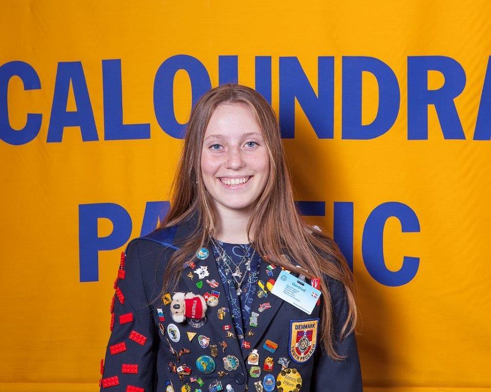 Gertrud Volund_Rotary Exchange Student