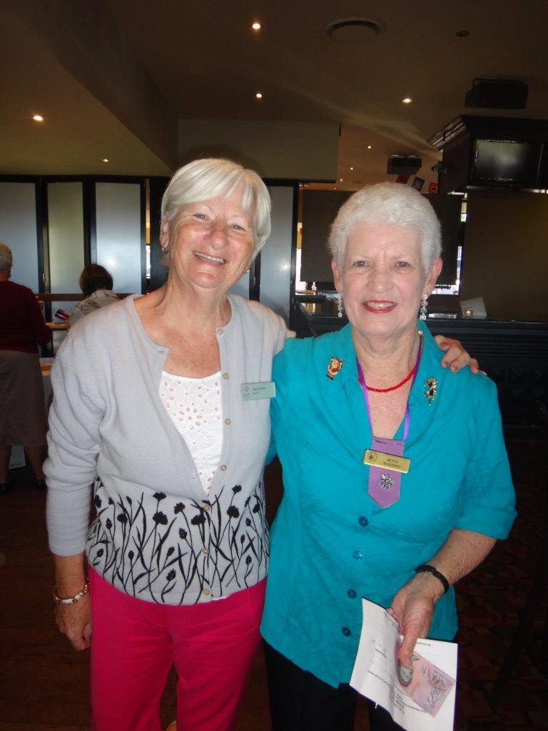 Mary Parker, Betty Harding