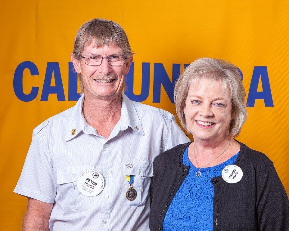 Peter & Yvonne Higgs