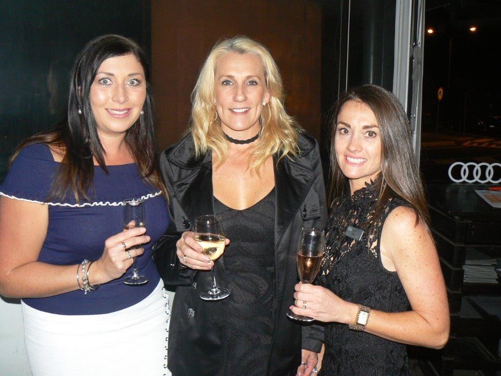 Sarah Davis, Kelly Parez, Karen Moye