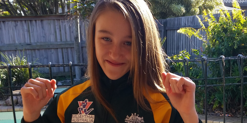 Sunshine Coast student Skylah Hamill recently competed at Muay Thai World Championships.