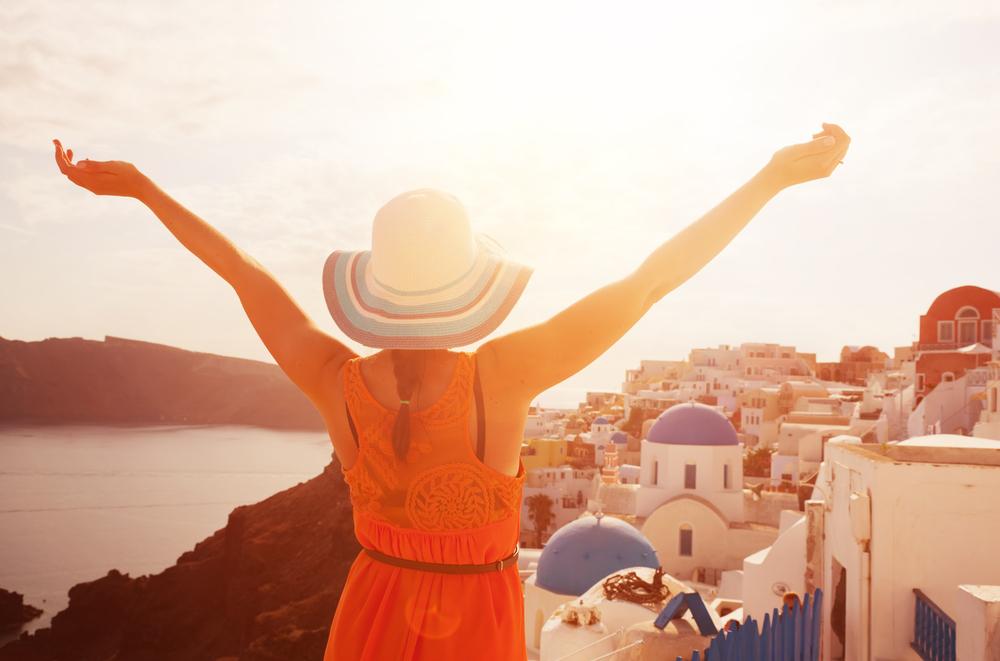 Holidaying in Greece