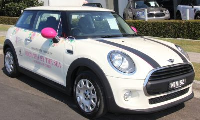 Win a Mini Cooper and support the National Breast Cancer Foundation