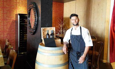 Bharat Ojha is the chef at Mooloolaba's Bella Venezia