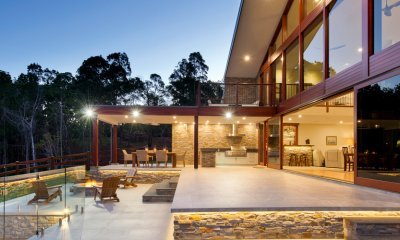 Dave Becker Constructions won the HIA Home of the Year award.