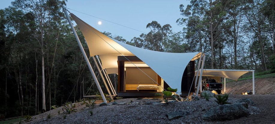 Tent House designed by Sparks Architects