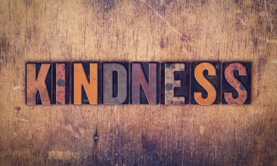 Sami Muirhead says kindness is important