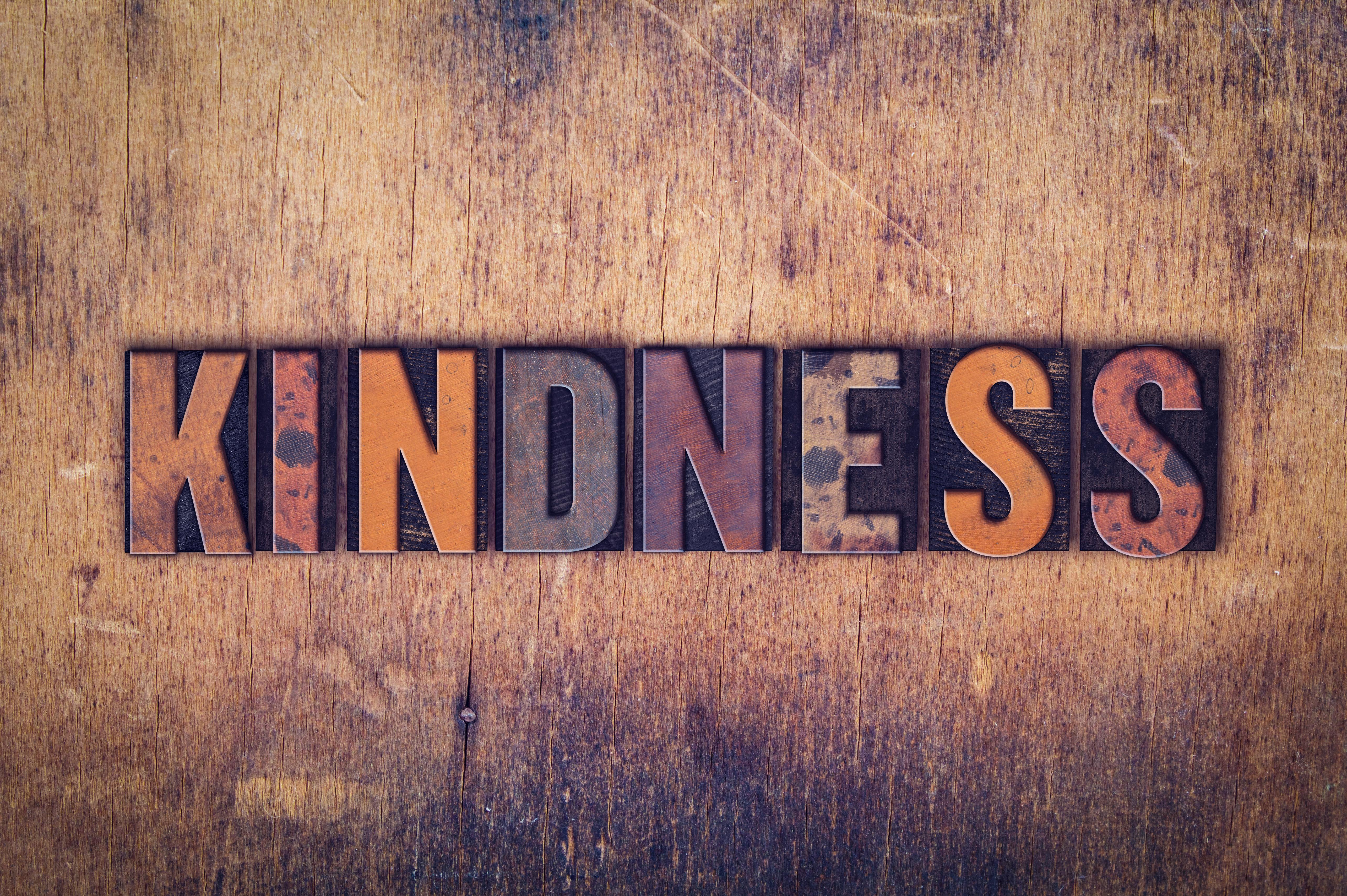Sami Muirhead says kindness is important