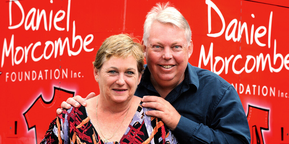 Denise and Bruce Morcombe continue to spread the message of child safety awareness as Day for Daniel was held.