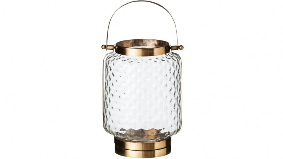 The Byron lantern from Harvey Norman