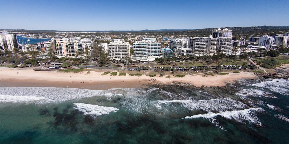 Visit Sunshine Coast CEO Simon Latchford says the Sunshine Coast needs sustainable development