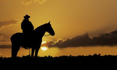 Writer Richard O'Leary wants to ride off into the sunset at the end of his journey.