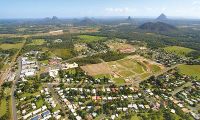 The Sunshine Coast hinterland is a popular real estate area.