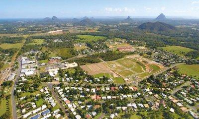 The Sunshine Coast hinterland is a popular real estate area.