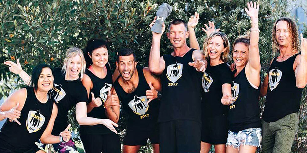 Seven super-fit locals have joined ultra-marathon runner Jamie Milne to run 1400 kilometres across the UK.