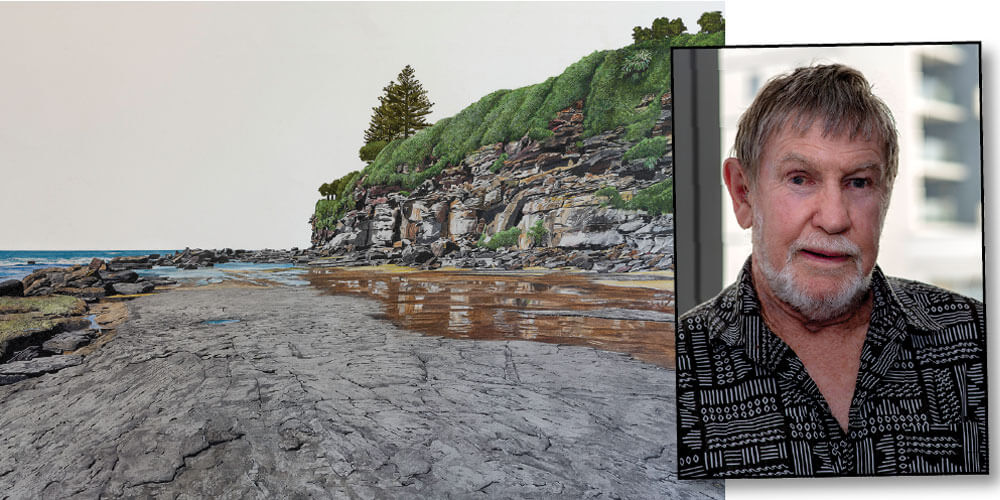 Award-winning local artist Phil Rolton has a unique way of capturing the beauty of Sunshine Coast landscapes.