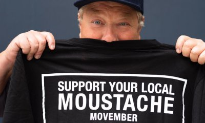 As the nation's blokes put aside their razors to take part in Movember, television personality Jono Coleman speaks out after his own cancer diagnosis about the importance of talking to your GP, and fellow men.