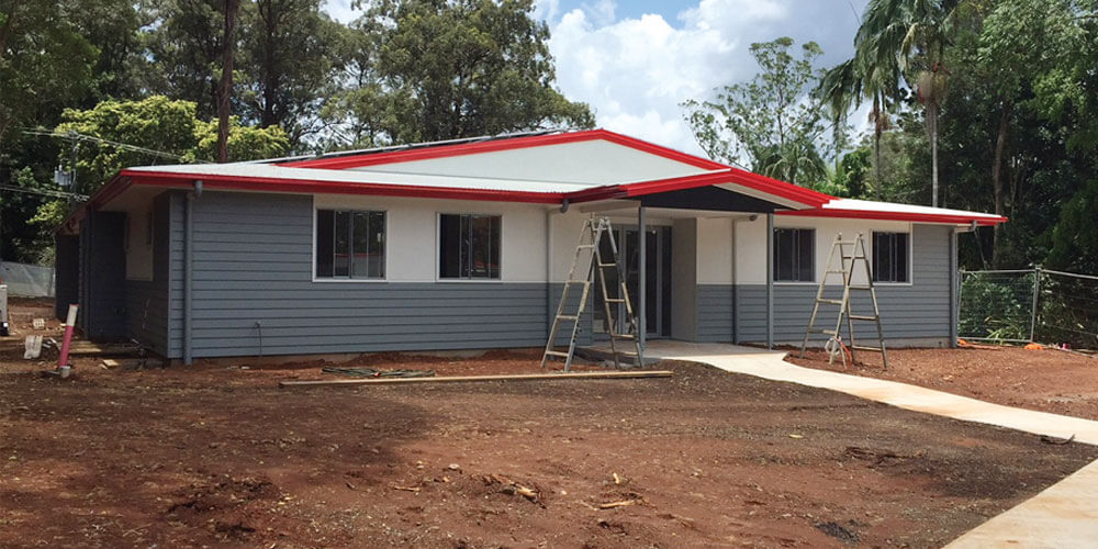Bruce and Denise Morcombe realise a long-held dream as they put the finishing touches on Daniel House at Palmwoods.