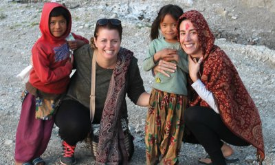 Megan Limpus had a life-changing experience when she visited Nepal earlier this year to deliver handmade cloth menstrual pads to girls and women who no longer have to miss school and work each month.