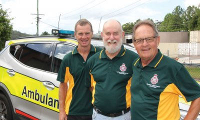 Three Sunshine Coast men are being awarded for their dedication to our local ambulance service.