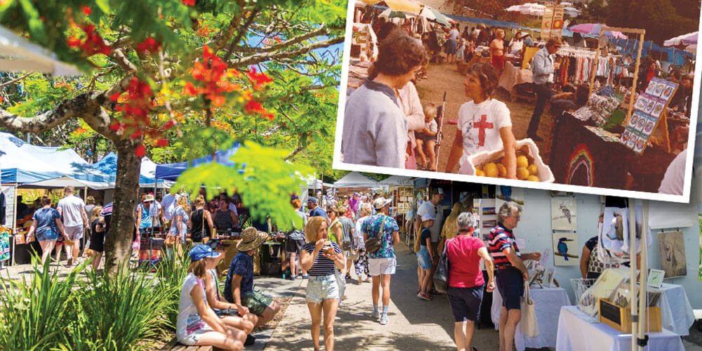 From humble beginings, Eumundi Markets has blossomed into Australia's largest craft and artisan market.