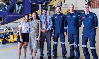 Most of us don't have any idea of the incredible work done by the RACQ LifeFlight Rescue helicopter service. But those whose lives have been saved and changed by this service most certainly do, and they will never forget them.