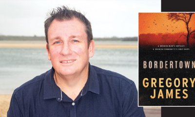 Former police detective and Birtinya author Gregory James is set to launch his debut crime fiction novel Bordertown, a runner-up in the inaugural HarperCollins Banjo Prize.