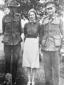 Landsborough's Mary Schulz did her bit for the war effort, serving tea and scones to WW2 soldiers who trained on the Sunshine Coast.
