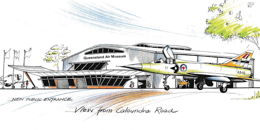 The iconic Queensland Air Museum at Caloundra is fighting for its future.