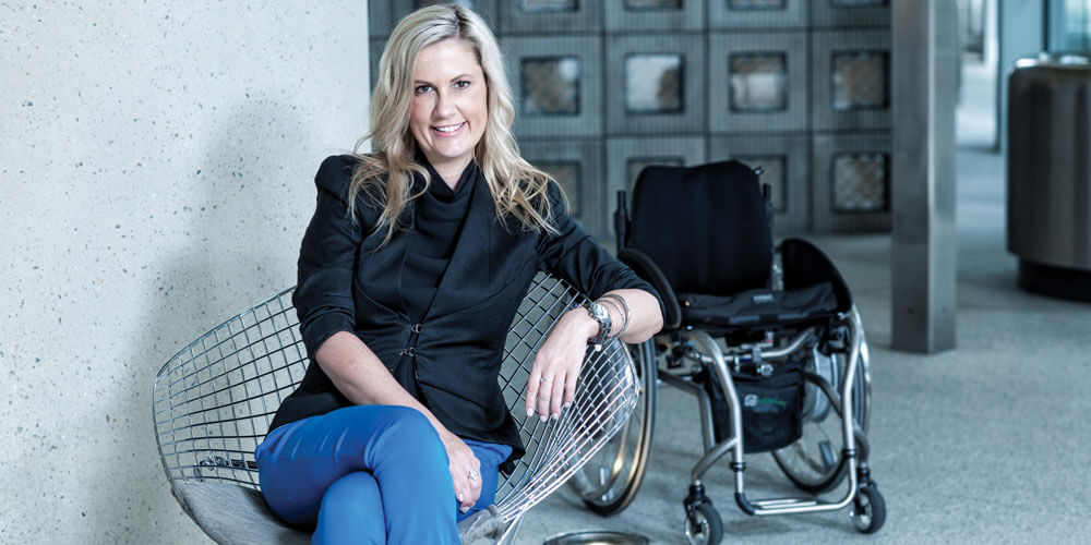 Paralympian Karni Liddell is speaking up for those who can't always speak up for themselves.