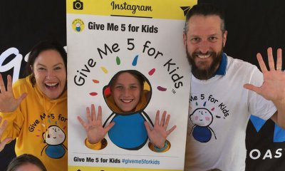 Give Me 5 for Kids is expected to reach its target of $500,000 raised for Wishlist.